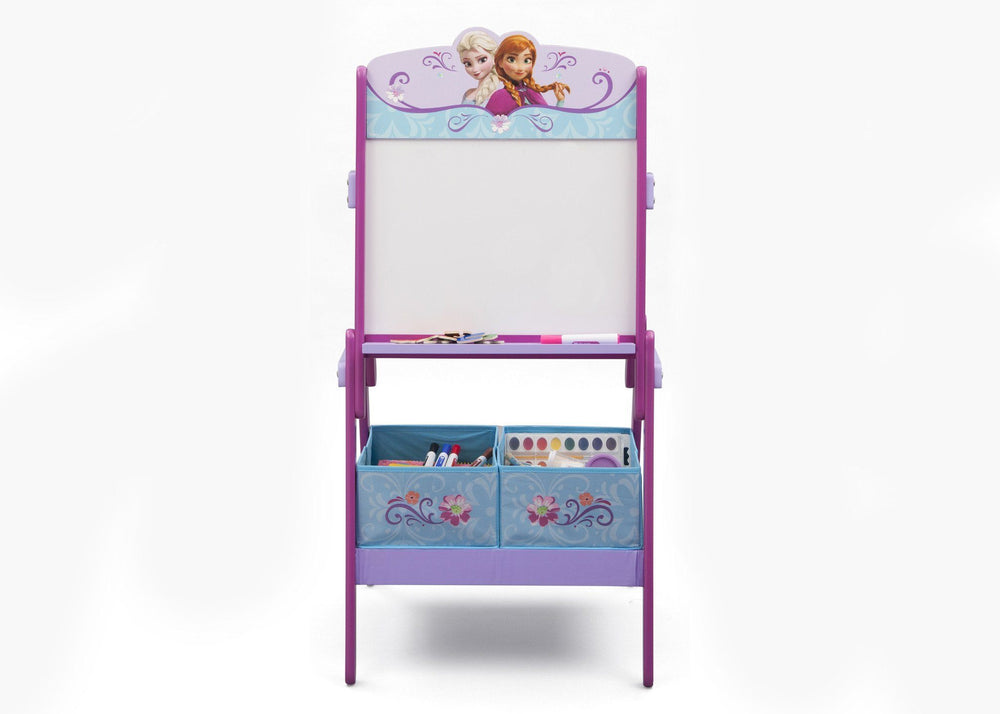 Delta Children Frozen Activity Easel, Front View with Props