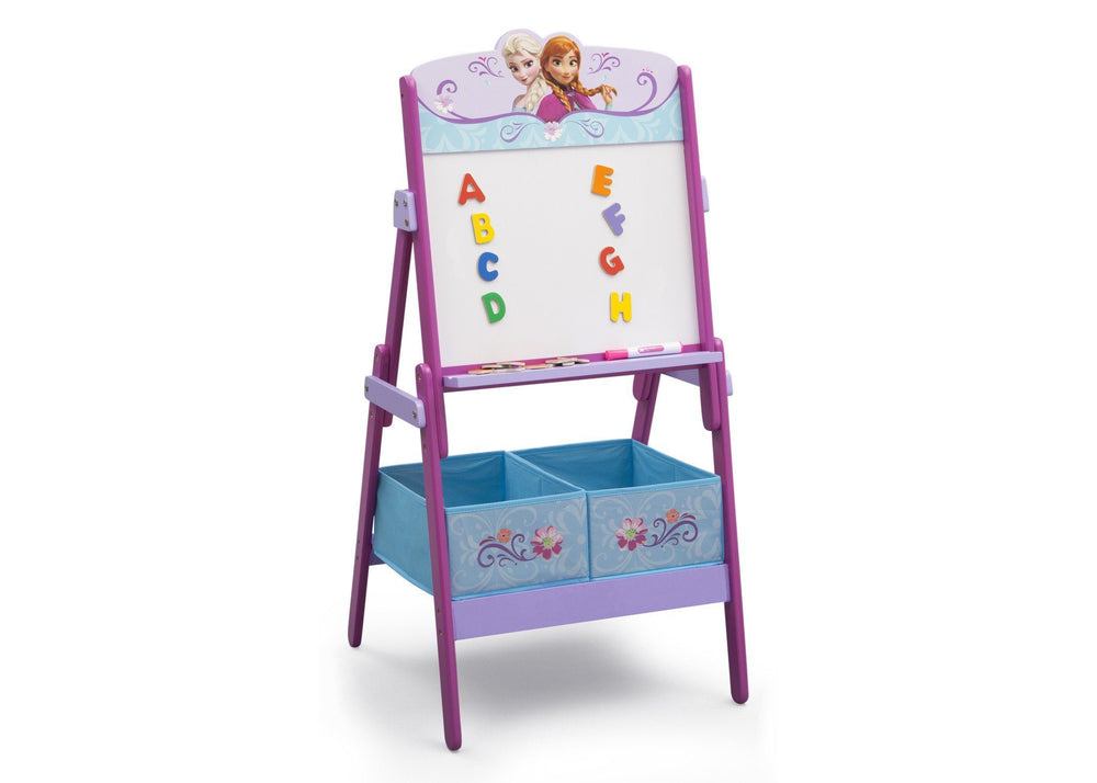 Delta Children Frozen Activity Easel, Right View a2a