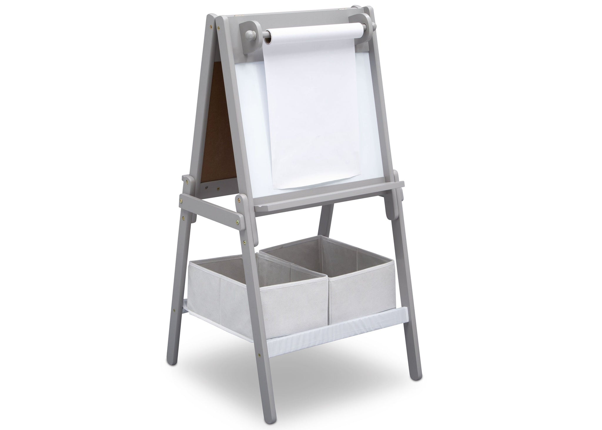 Delta Children Grey (026) MySize Double-Sided Storage Easel, Right Angle, a2a