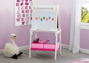 Delta Children Bianca (130) MySize Double-Sided Storage Easel, Room, b1b