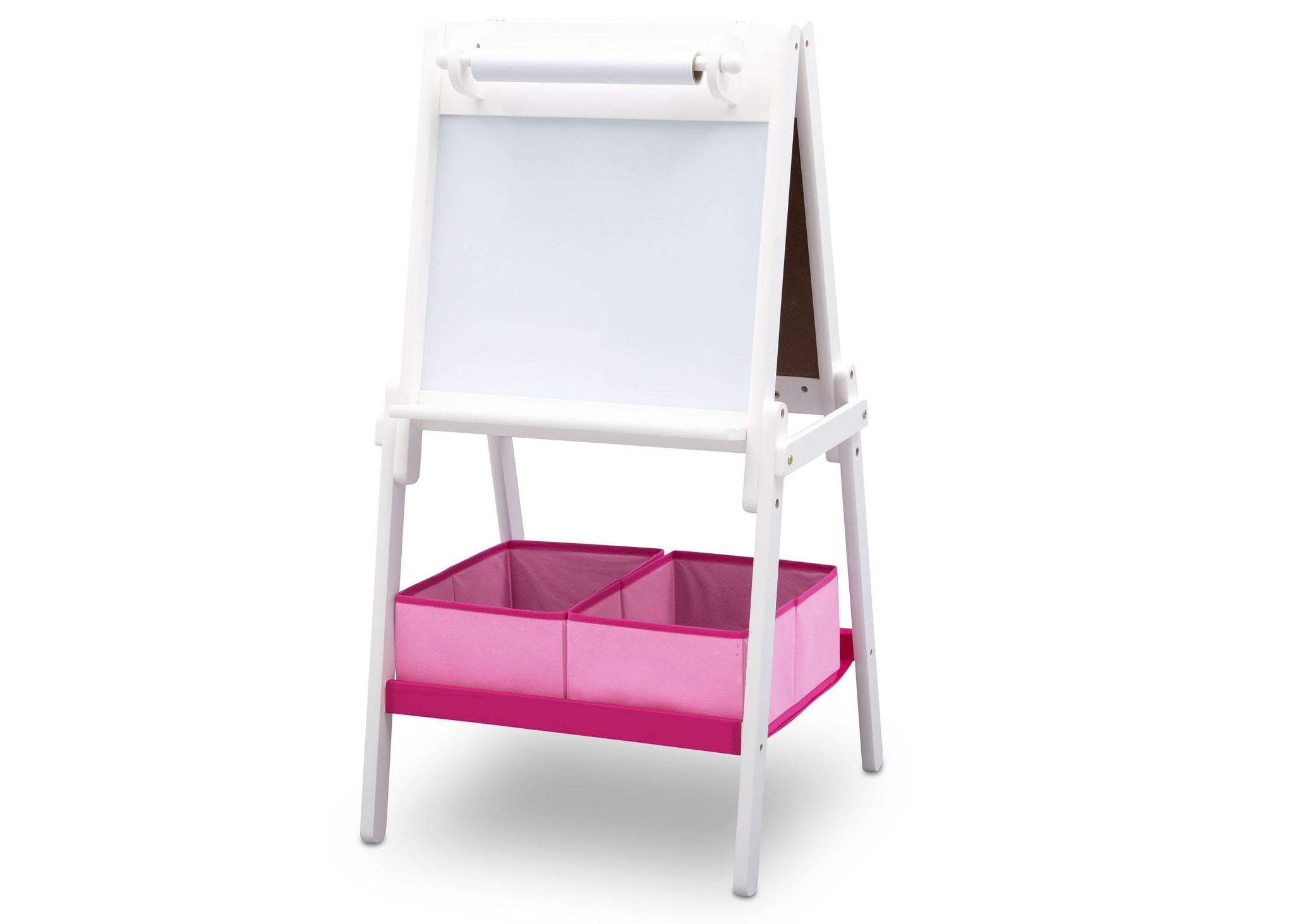 Delta Children Bianca (130) MySize Double-Sided Storage Easel, Left Angle, b3b