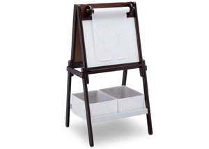Delta Children Dark Chocolate (207) MySize Double-Sided Storage Easel, Right Angle, c2c