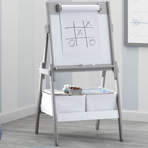 Classic Kids Whiteboard/Dry Erase Easel with Paper Roll and Storage