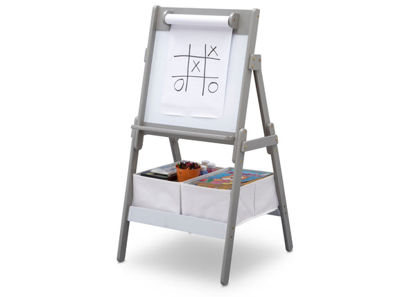Classic Kids Whiteboard Dry Erase Easel With Paper Roll