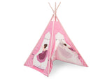 Delta Children Ballerina Teepee Play Tent for Kids, Right Silo View