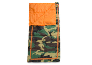 Delta Children Green Camo (999) Teepee Play Tent and Matching Sleeping Bag Set for Kids, Sleeping Bag Detail View