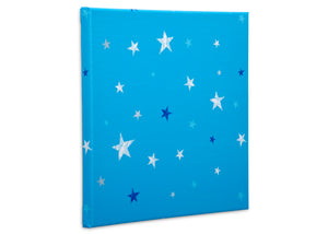Delta Children Stars (3207) 3-Piece Canvas Wall Art Set for Boys, Small Stars Silo View