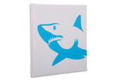 Delta Children Shark (3208) 3-Piece Canvas Wall Art Set for Boys, One Shark Silo View