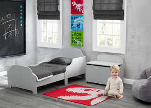 Delta Children Dinosaur (3210) 3-Piece Canvas Wall Art Set for Boys, Room View