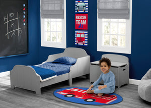 Delta Children Rescue (3211) 3-Piece Canvas Wall Art Set for Boys, Room View