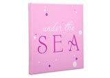 Delta Children Seashell (3013) 3-Piece Canvas Wall Art Set for Girls, Under the Sea Silo View