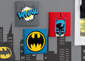 Delta Children Batman (1200) Wall Art Set (TR80047BT) Hangtag, a1a