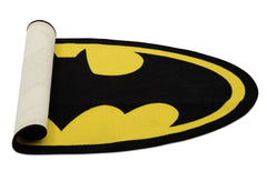 Delta Children Batman (1200) Soft Area Rug with Non-Slip Backing (TR80048BT), Rolled, a3a