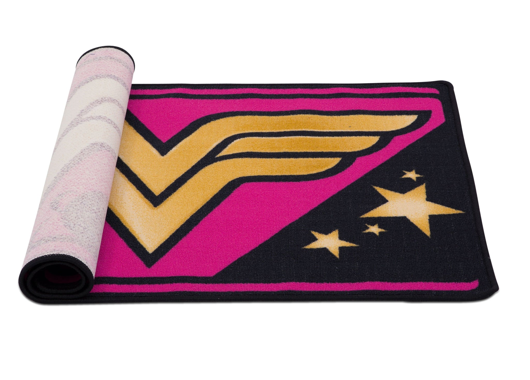 Delta Children Wonder Woman (1210) Soft Area Rug with Non-Slip Backing (TR80056WW), Rolled, a3a