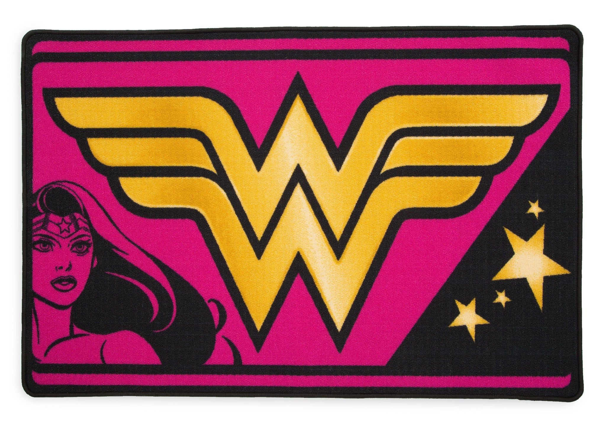 Delta Children Wonder Woman (1210) Soft Area Rug with Non-Slip Backing (TR80056WW), Silo, a2a