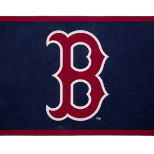 Children Boston Red Sox (1233) Sox Soft Area Rug with Non-Slip Backing (TR9812BOS), Silo, a2a