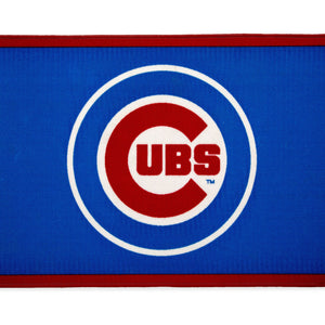 Delta Children Chicago Cubs (1232) Soft Area Rug with Non-Slip Backing (TR9812CHC), Silo, a2a