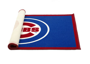 Delta Children Chicago Cubs (1232) Soft Area Rug with Non-Slip Backing (TR9812CHC), Rolled, a3a