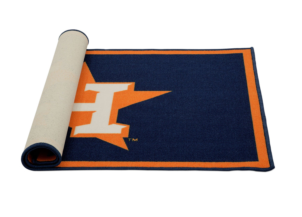 Delta Children Houston Astros (1249) Soft Area Rug with Non-Slip Backing (TR9812HOU) Rolled, a3a
