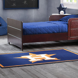 Delta Children Houston Astros (1249) Soft Area Rug with Non-Slip Backing (TR9812HOU), Hangtag, a1a