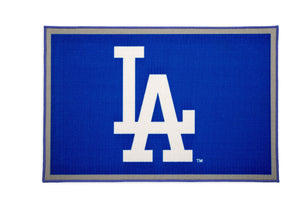 Delta Children Los Angeles Dodgers (1231) Soft Area Rug with Non-Slip Backing (TR9812LAD), Silo, a2a