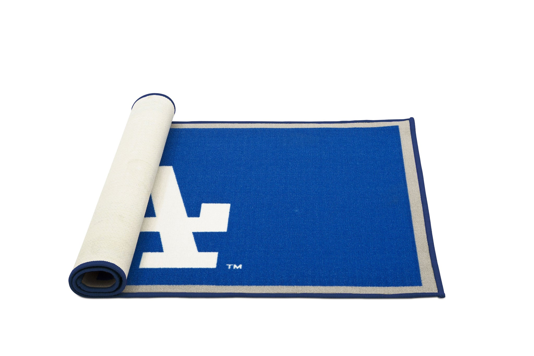 Delta Children Los Angeles Dodgers (1231) Soft Area Rug with Non-Slip Backing (TR9812LAD), Rolled, a3a