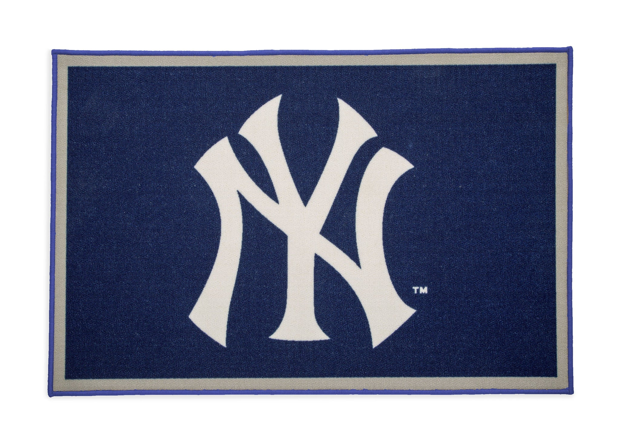 Delta Children New York Yankees (1230) Soft Area Rug with Non-Slip Backing (TR9812NYY), Silo, a2a
