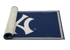 Delta Children New York Yankees (1230) Soft Area Rug with Non-Slip Backing (TR9812NYY), Rolled, a3a