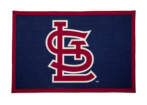 Delta Children St. Louis Cardinals (1234) Soft Area Rug with Non-Slip Backing (TR9812STL), Silo, a2a