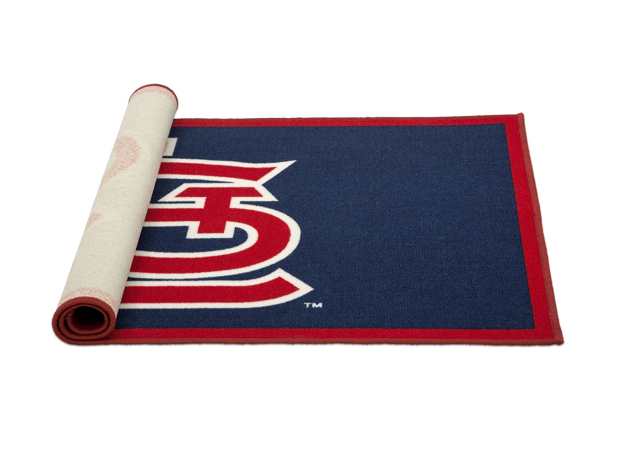 Delta Children St. Louis Cardinals (1234) Soft Area Rug with Non-Slip Backing (TR9812STL), Rolled, a3a