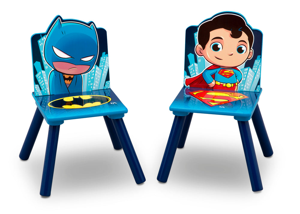 Delta Children Style 1 Super Friends (Batman | Superman | Wonder Woman | The Flash) Kids Chair Set and Table Chairs View a5a