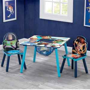 Toy Story 4 Table and Chair Set with Storage by Delta Children