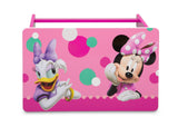 Delta Children Minnie Mouse Kids Wood Desk and Chair Set, Desk Top View