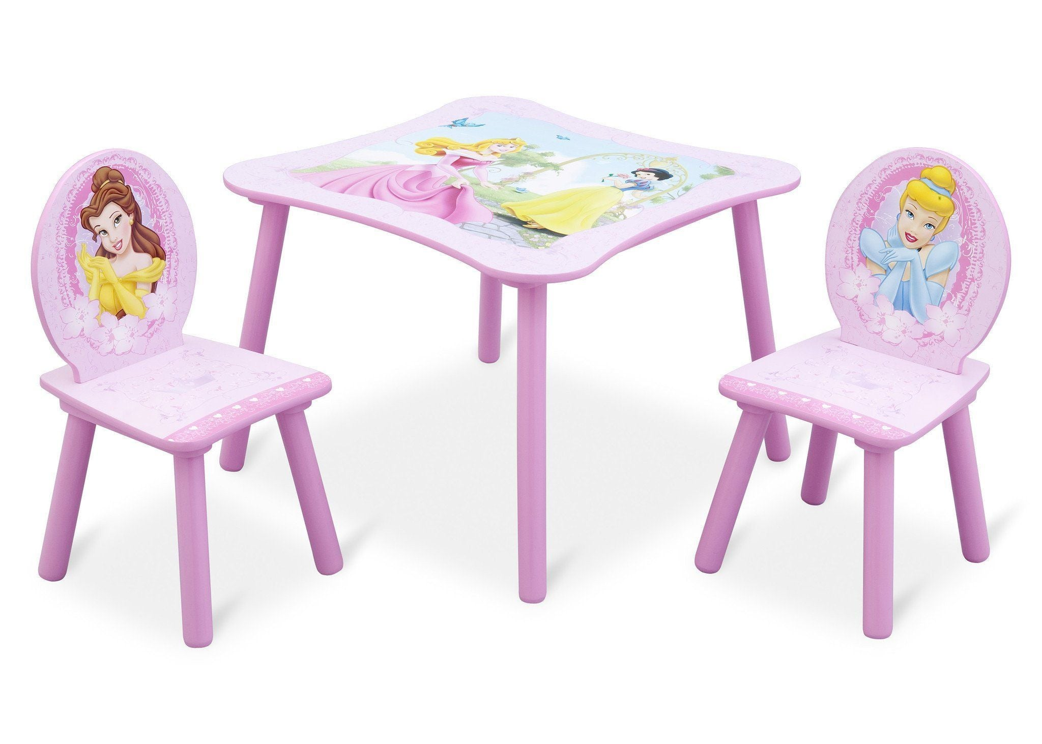 Delta Children Princess Table and Chair Right View a1a  sc 1 st  Delta Children & Princess Table u0026 Chair Set | Delta Children