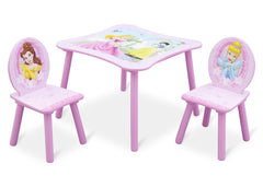 Delta Children Princess Table and Chair Right View a1a