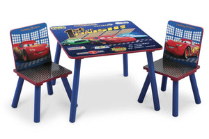 Delta Children Style-1 Cars Table & Chair Set, Style 1 a1a