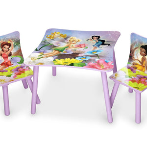 Delta Children Style 1 Fairies Table and Chairs, Right View a1a