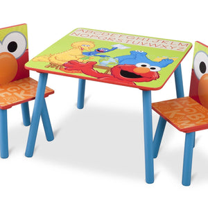 Delta Children Sesame Street Table and Chair Set
