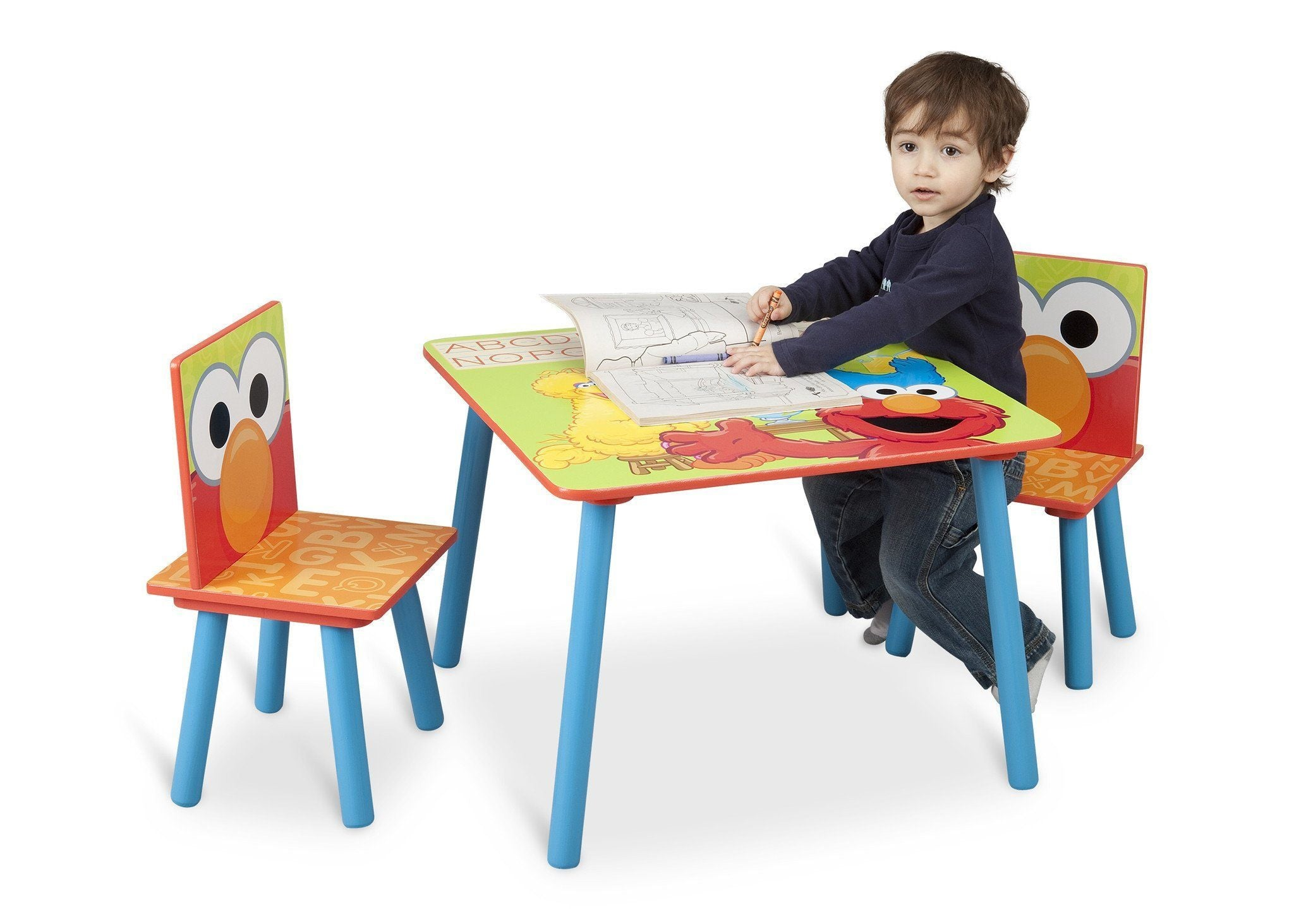 Delta Children Sesame Street Table and Chair Set in Setting a1a  sc 1 st  Delta Children & Sesame Street Table u0026 Chair Set | Delta Children