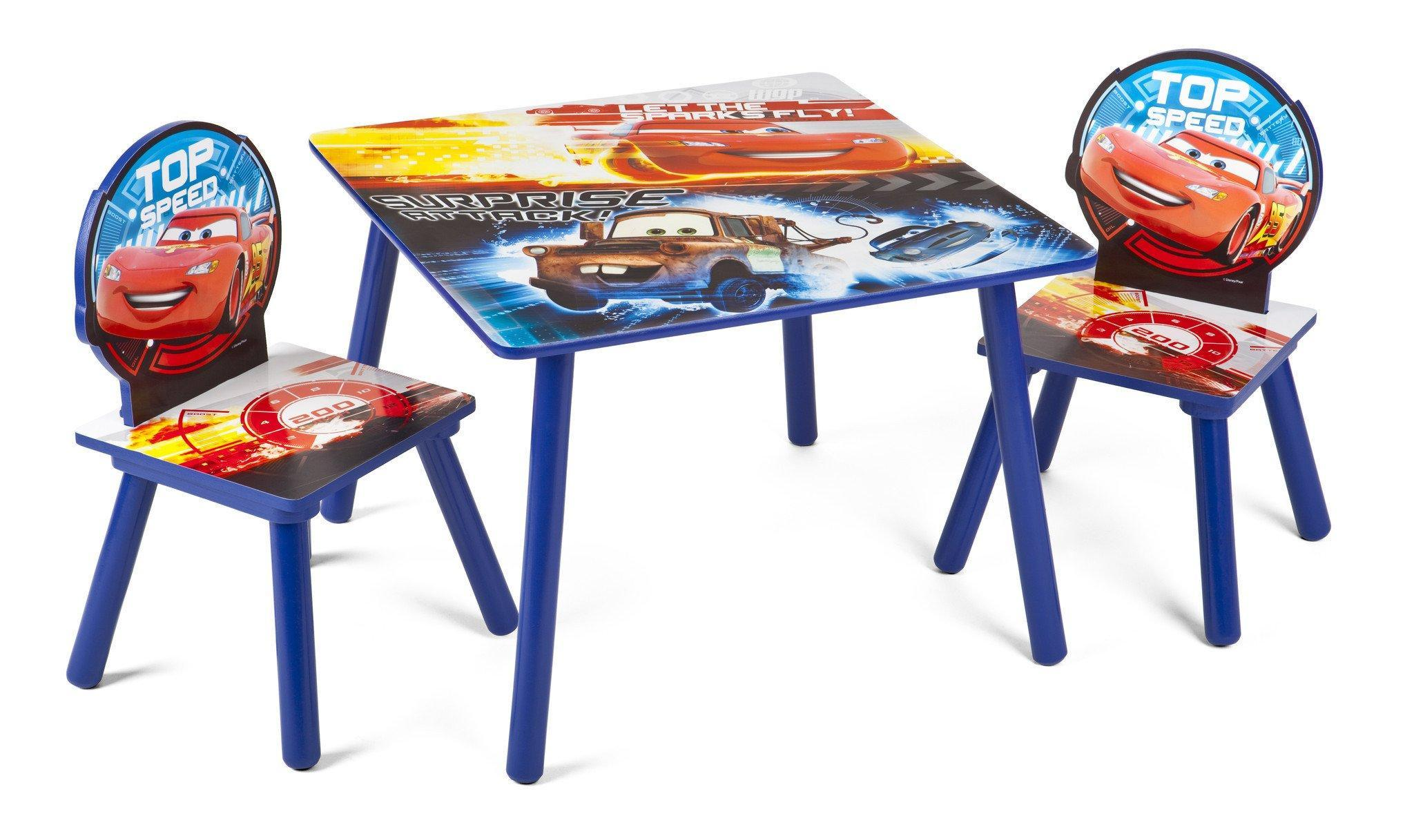 Delta Children Cars Table & Chair Set, Style 1 a1a