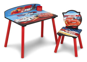 Delta Children Cars Desk and Chair, Side View a1a