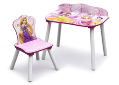 Delta Children Princess Desk & Chair Set with Chair on Left a2a