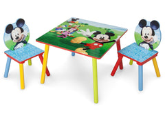 Delta Children Mickey Mouse Table & Chair Set Left Side View a2a