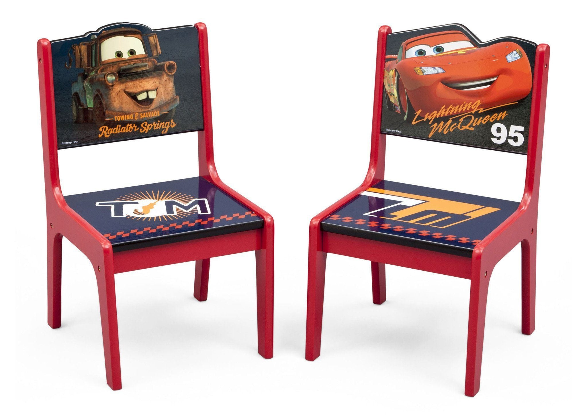 Cars Deluxe Table & Chair with Storage – Delta Children