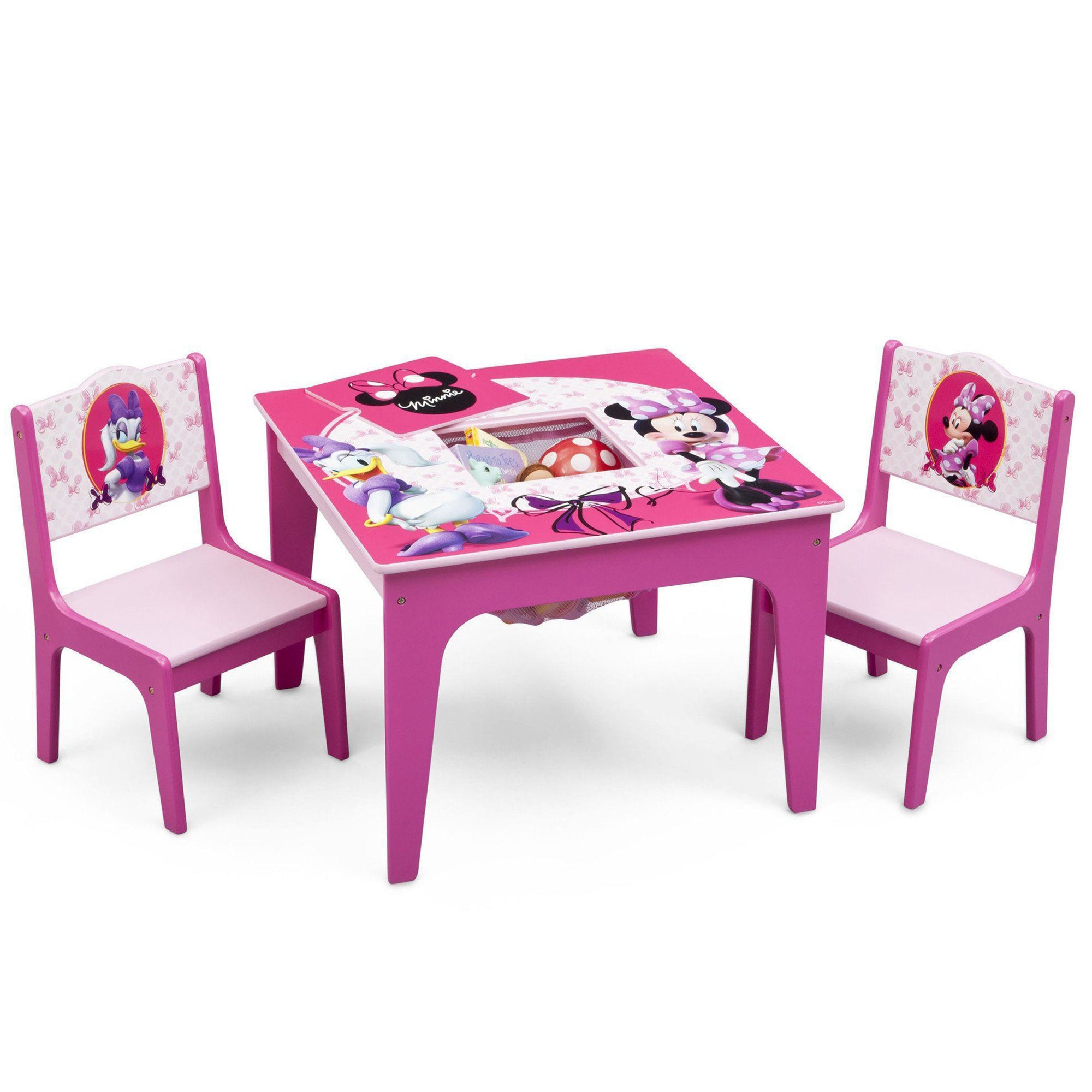Minnie Mouse Deluxe Table & Chair Set with Storage