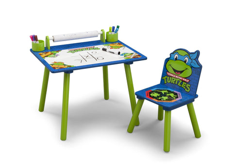 Teenage Mutant Ninja Turtles Art Desk with Paper Poll