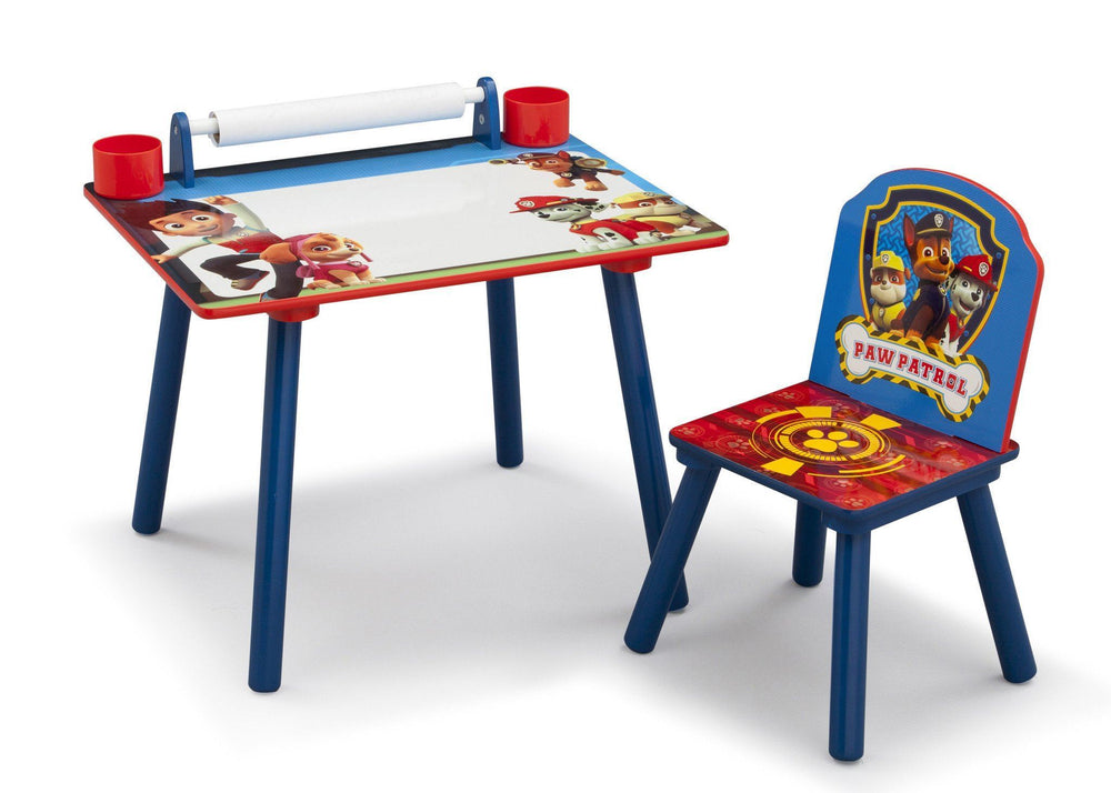 Delta Children PAW Patrol Art Desk, Right View a2a
