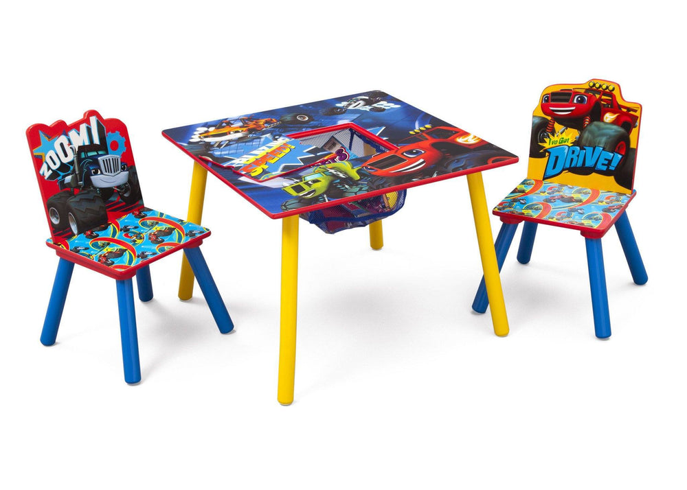Blaze And The Monster Machines Table Amp Chair Set With