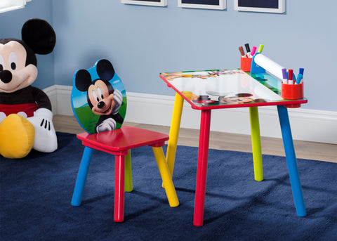 Mickey Mouse Art Desk with Paper Roll