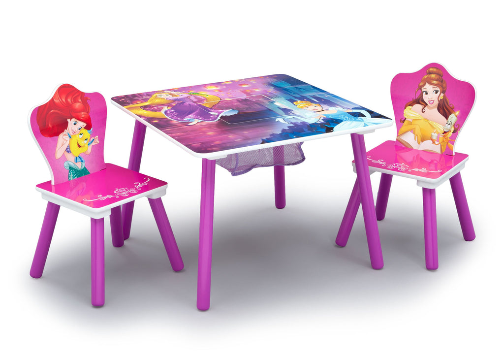 Princess Table and Chair Set With Storage | Delta Children